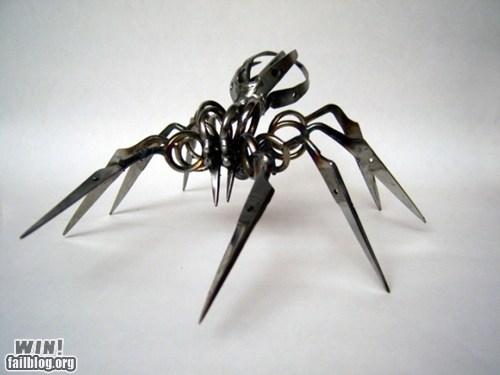 art design scissors spider - 6070018304