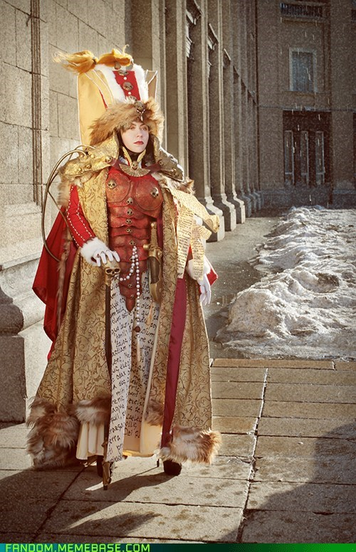 cosplay,games,Queen Lachryma III of Sepheris Secundus,warhammer,warhammer 40k