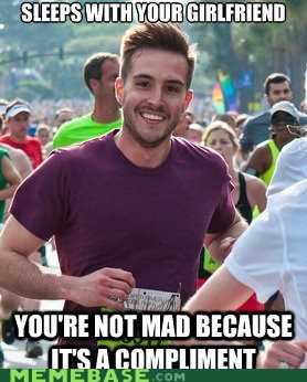 girlfriend,handsomest,Memes,photogenic guy,runner