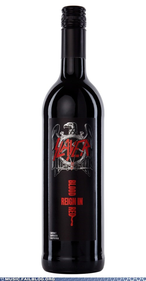 alcohol metal product slayer wine - 6070236416