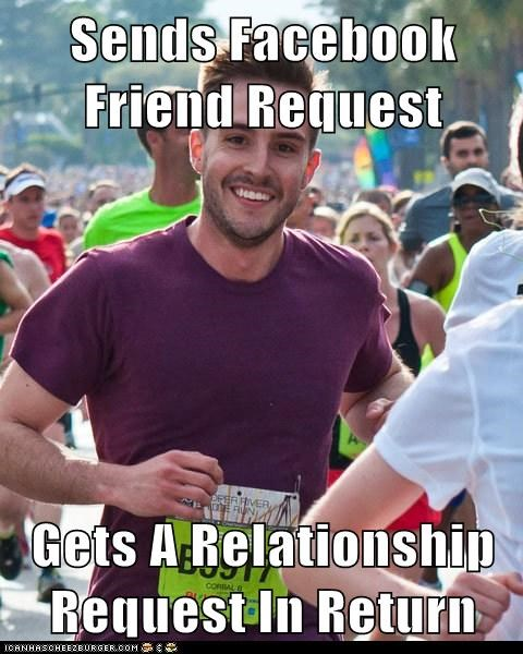 facebook friends Memes photogenic guy relationship request - 6070415360