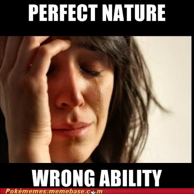 abilities breeding meme Memes nature problems so sad