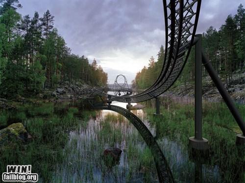 amusement park lake photography roller coaster whee wincation - 6070690560