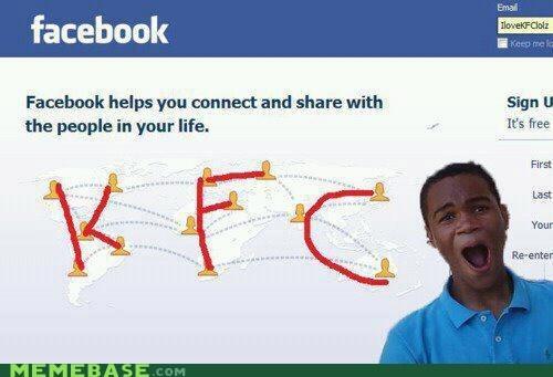 facebook,facebook map,kfc,map