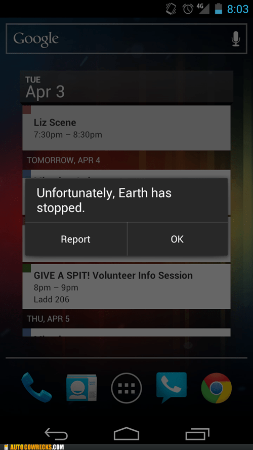 earth google rotation stopped