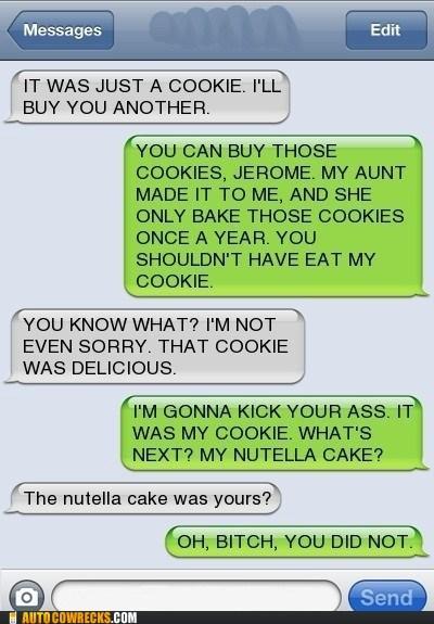 cake cookies eating - 6070797056