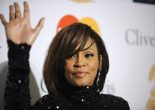 celeb whitney houston