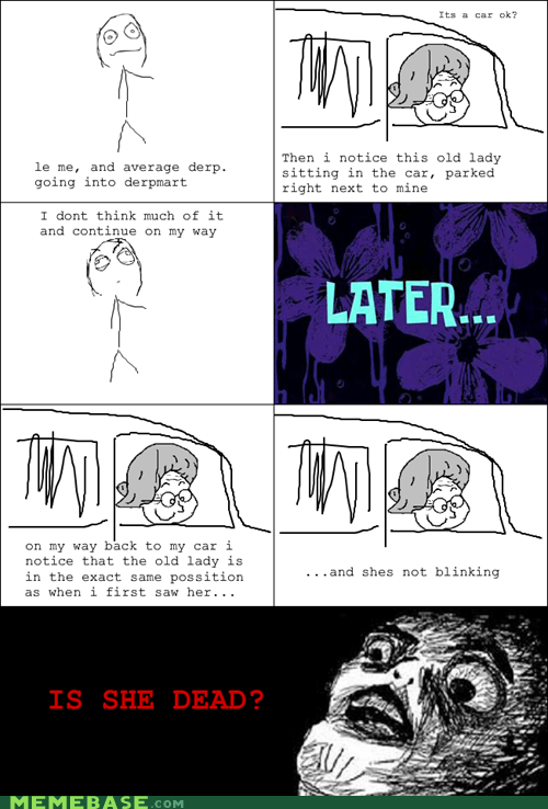 dead,old,Rage Comics,raisin face