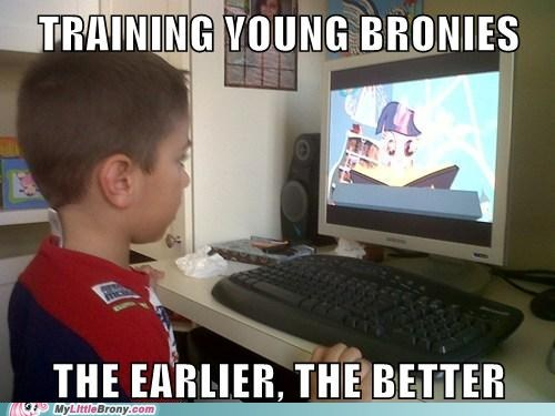 Bronies IRL join the herd siblings train them young - 6071178496