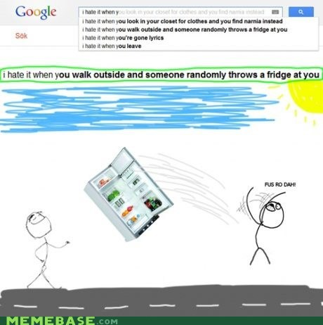 fridges google i hate it when Rage Comics throwing - 6071314688