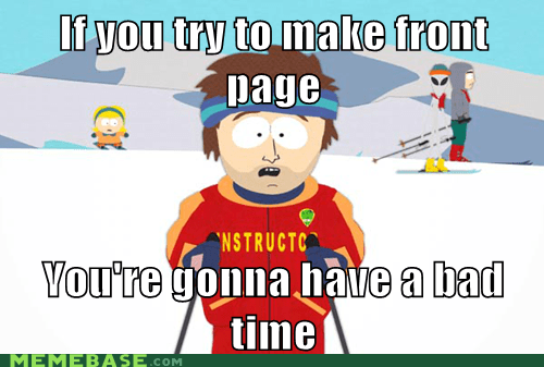 a bad time front page instructor Memes ski South Park - 6071411456