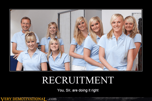 dentist,doing it right,hilarious,recruitment,Sexy Ladies