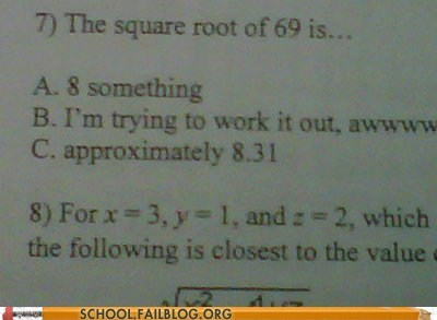 69 accuracy math humor square roots - 6072730112