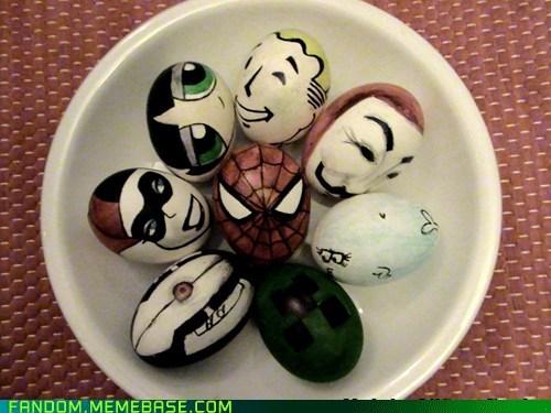 creeper cute easter eggs Fan Art Portal Spider-Man turret - 6072931584