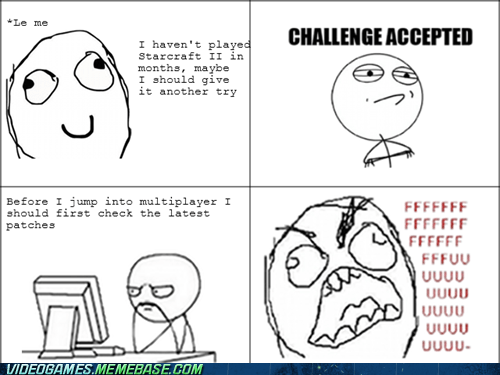 FUUUUU OP patches PC rage comic starcraft 2 - 6073636352