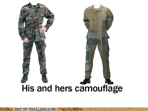 camouflage kitchen women
