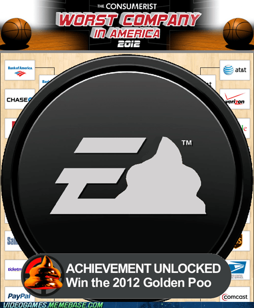 2012 consumerist EA gaming golden poo the internets worst company - 6073917696