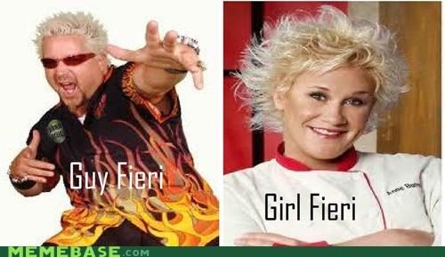 fieri fiery girl guy Memes names twins - 6074164736