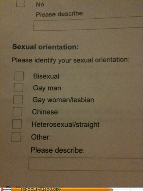chinese,sexual orientation,which one