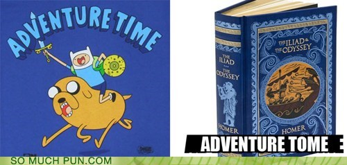 adventure time,cartoon network,homer,show,the iliad,the odyssey,TV