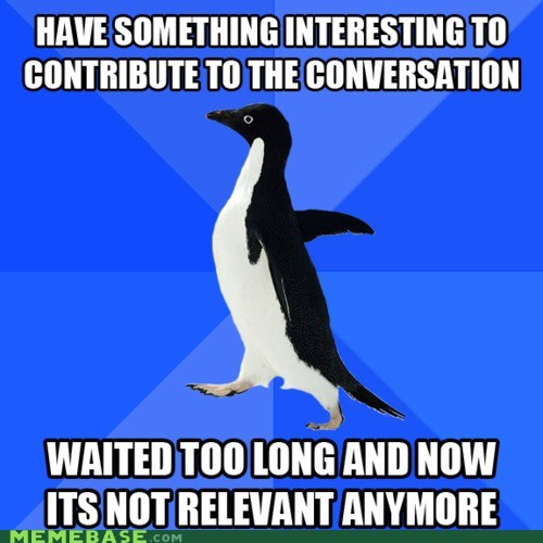 amanda,conversational skills,i am yr coach,just say it girl,socially awkward penguin,youll-be-better