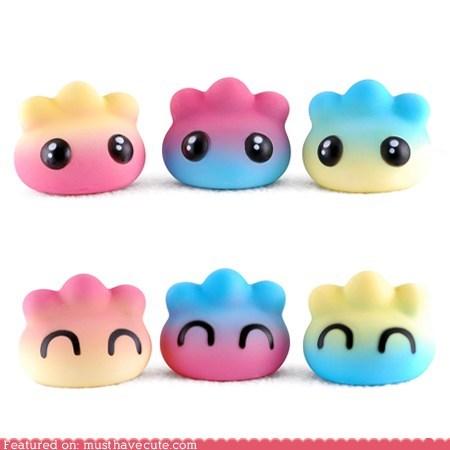 easter figurine Pastel pork dumpling toy vinyl - 6074573824