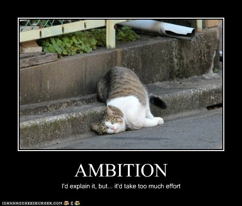 AMBITION I'd explain it, but... it'd take too much effort