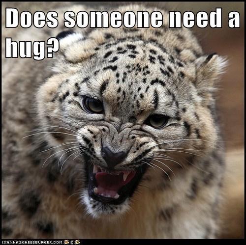 Does someone need a hug?