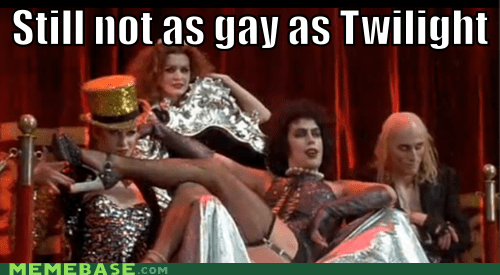 Memes Rocky Horror Picture Show still not as twilight