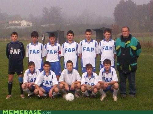 captain fap football i mean Memes soccer team - 6074870016