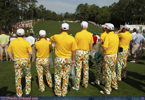 golf,matching,pants,psychedelic,sports