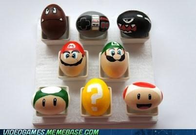 easter easter eggs IRL mario nintendo - 6075002368