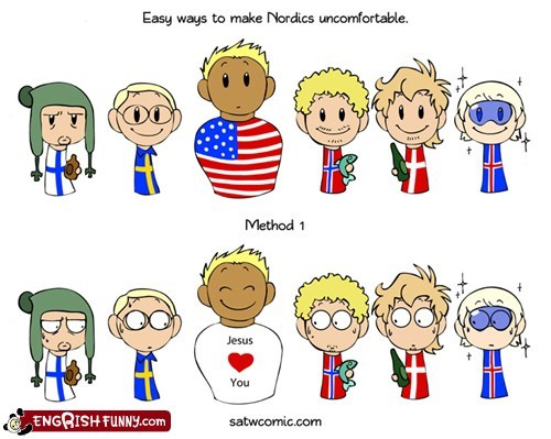 america,denmark,Finland,humon,Iceland,Norway,satw,scandinavia and the world,Sweden