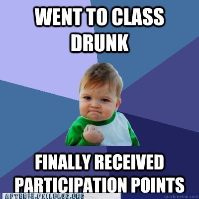 class college drunk school success baby success kid