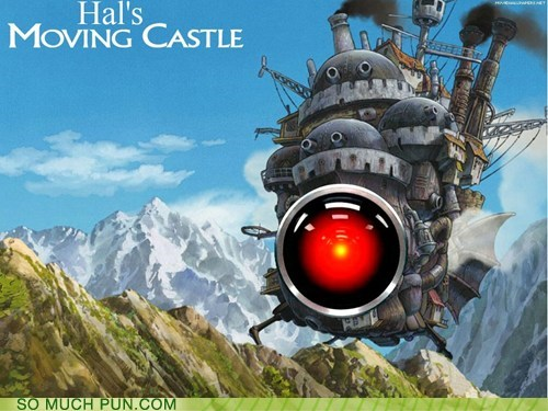2001 a space odyssey hal Hall of Fame howls-moving-castle literalism similar sounding studio ghibli