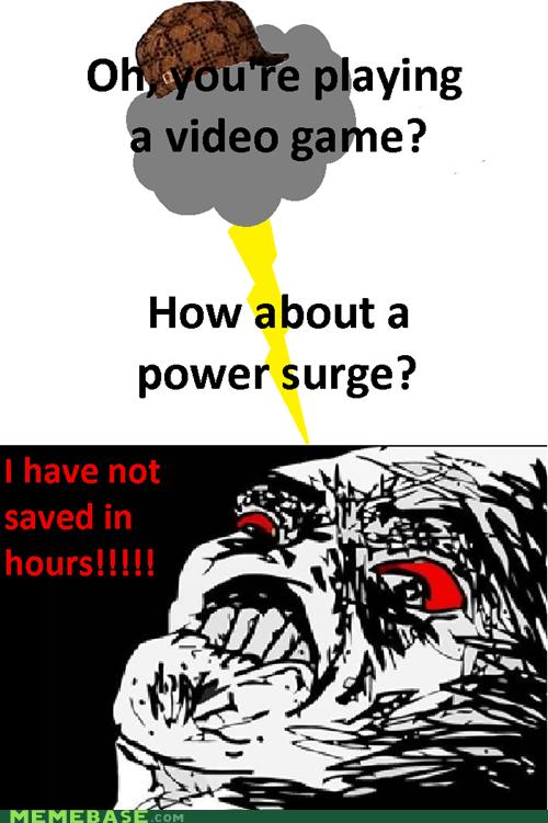 autosave meme power surge scumbag - 6075264512