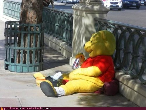 drinking,whinny the pooh,wtf