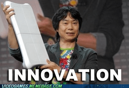 balance board,innovation,logic,miyamoto,nintendo,wii
