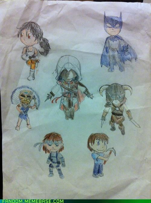 assassins creed cute Fan Art video games - 6075777536