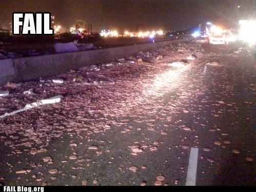 burgers road truck spill - 6076104704