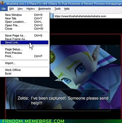 cute file menu It Came From the Interwebz legend of zelda link - 6076137472