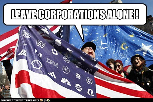corporations,funny,Protest