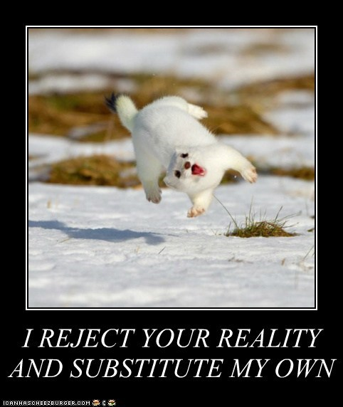 adam savage ermine flip I reject your reality mythbuster mythbusters stoat substitute weasel weasels - 6076419840