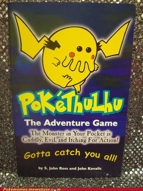 adventure game Pokébooks Pokémon pokethulhu tabletop game - 6076834304