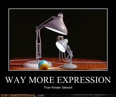 WAY MORE EXPRESSION Than Kristen Stewart