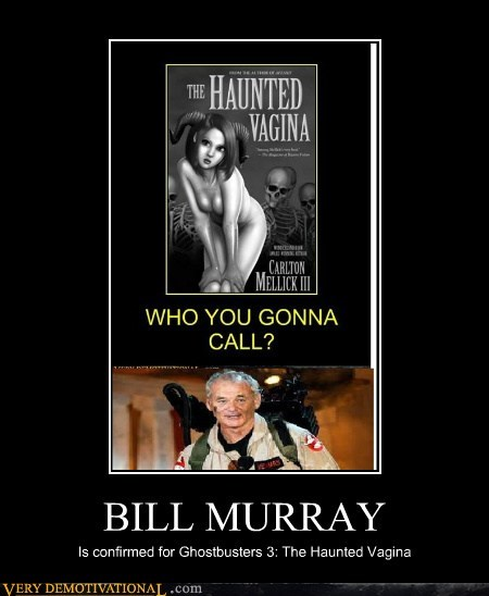 bill murry Ghostbusters 3 hilarious wtf