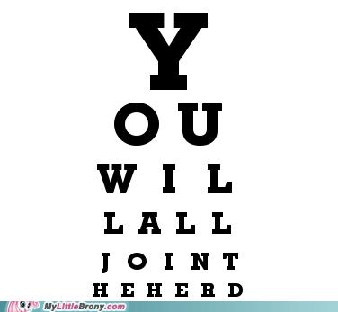 2020 Bronies brony eye test join the herd ponies vision - 6077426944