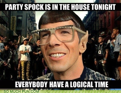lmfao lyrics Party Rock Anthem song Spock Star Trek