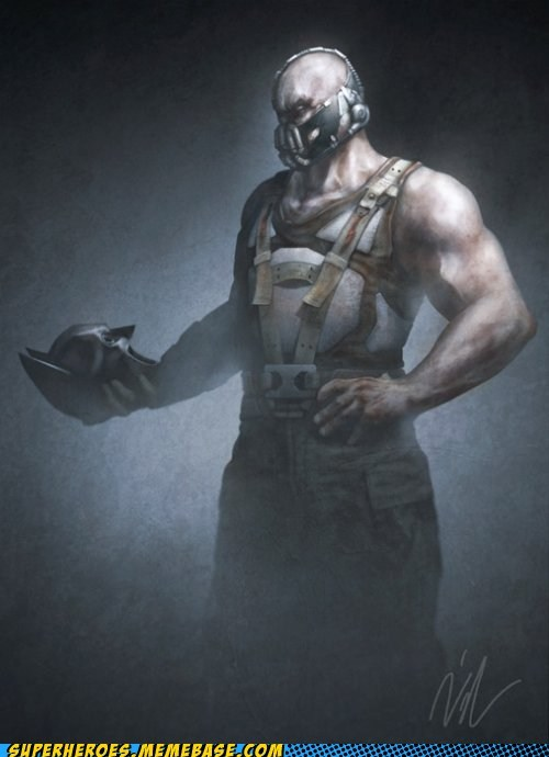 Awesome Art bane batman hamlet - 6078090752