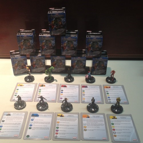 heroclix,movies,skrulls,spoilers,The Avengers